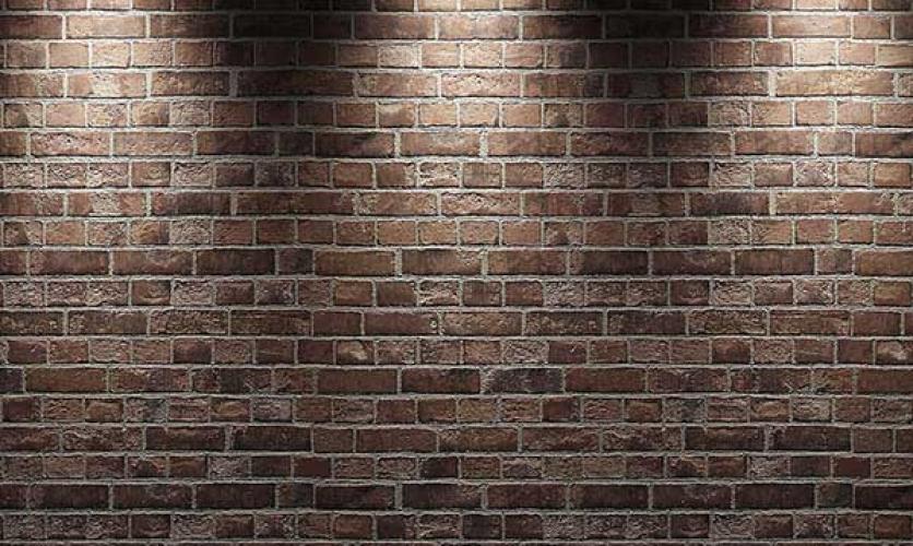 دیوار آجری, رنگ آمیزی دیوار آجری, دیوار, آجر