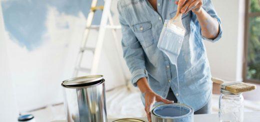 نقاشی ساختمان - مخلوط کردن و ترکیب رنگ