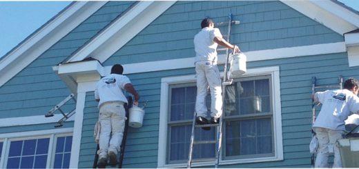 نقاشی ساختمان - رنگ نمای ساختمان