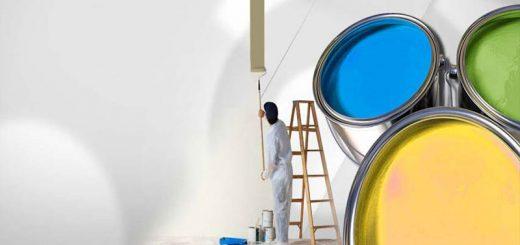 نقاشی ساختمان - رنگ کاری و رنگ آمیزی منزل