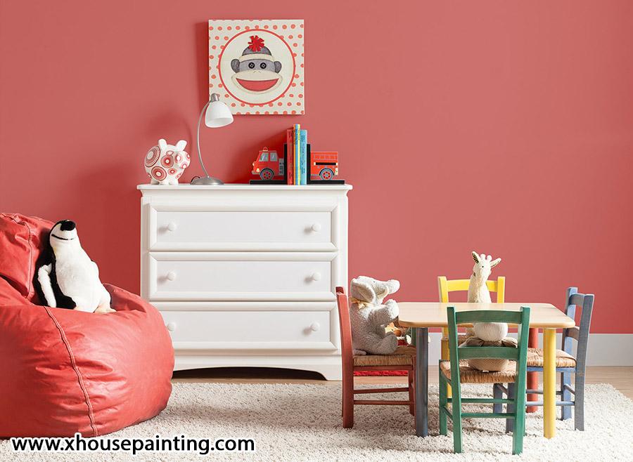 رنگ اتاق بچه