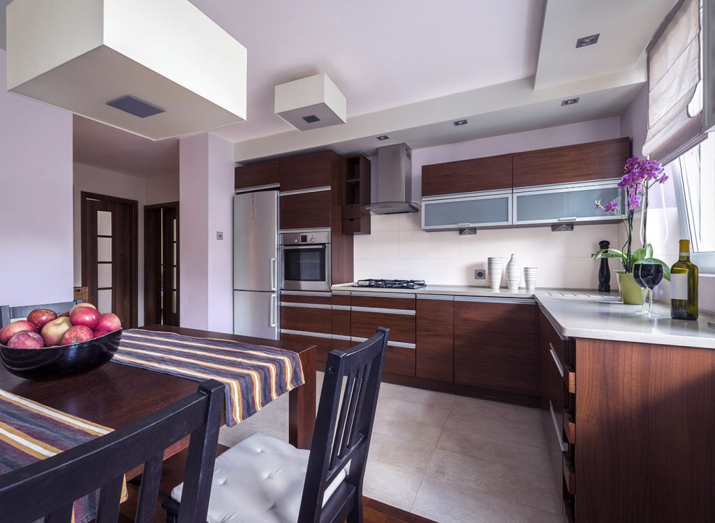 رنگ آشپزخانه 2018
