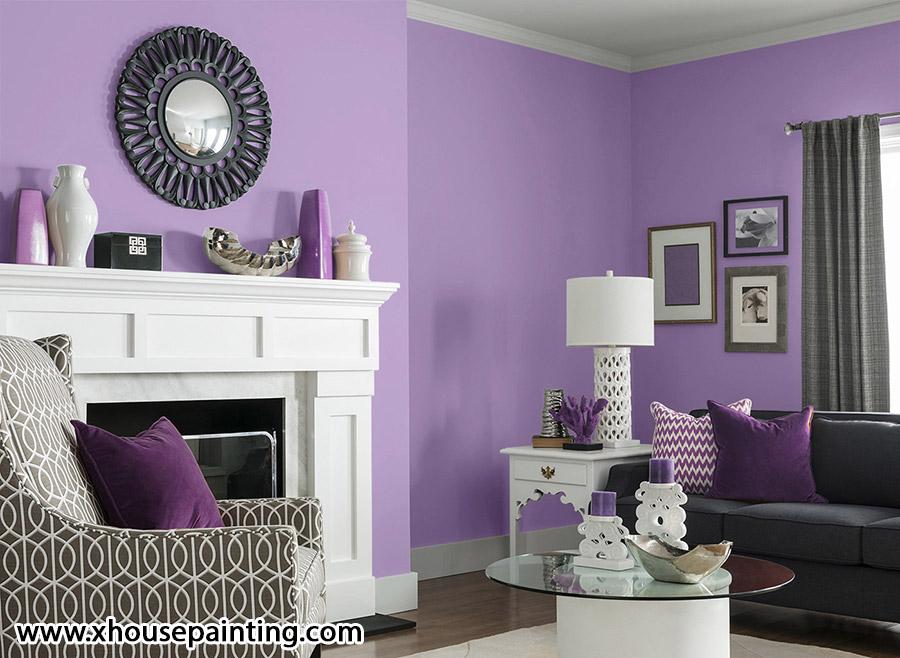 رنگ اتاق نشیمن